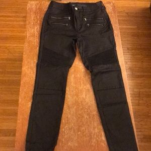 Mossimo High Rise Skinny Faux Leather Pants 8/29/R